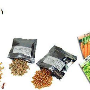 بذر سبزیجات و گل و صیفی جات
