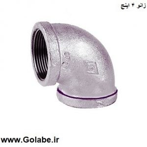 Knee 4-inch galvanized