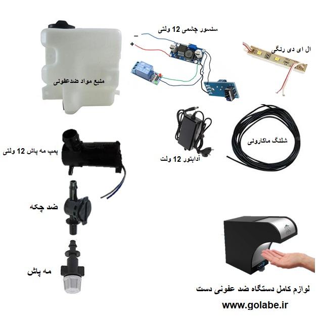 دستگاه چشمی ضدعفونی اتوماتیک